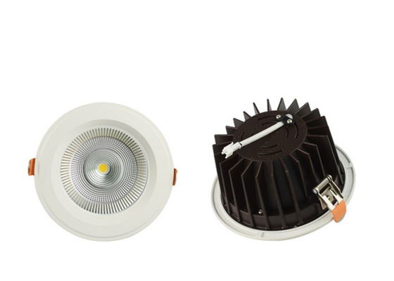 Chine l'ÉPI LED Downlight, plafond de 30w 2400lm CRI80 de 2700K/3000K LED s'allument vers le bas fournisseur